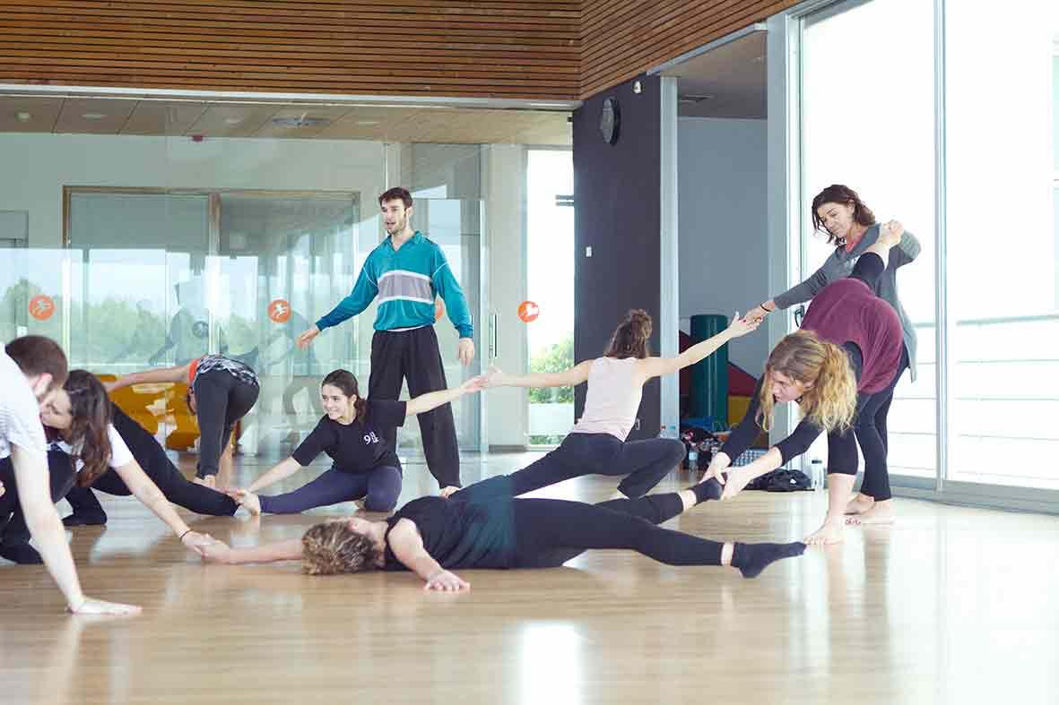 Construir a través de la danza, Pau Aran